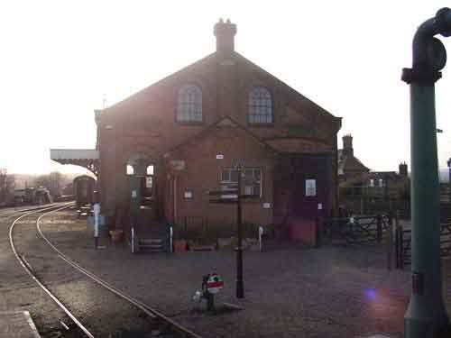 Fig 7 - The museum goods shed