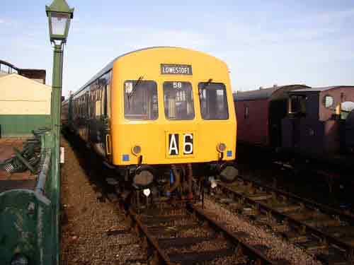 Fig 6 - A preserved 101 on the shed